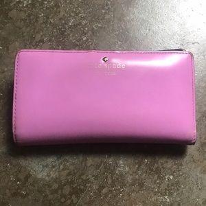 Kate spade pink/lilac wallet